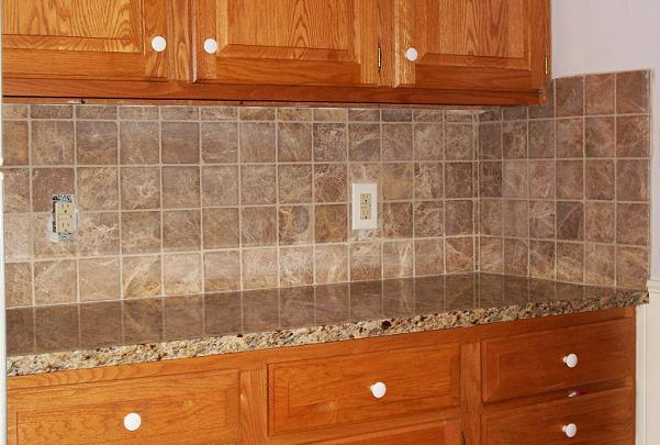 Image of: kitchen tile backsplash pictures