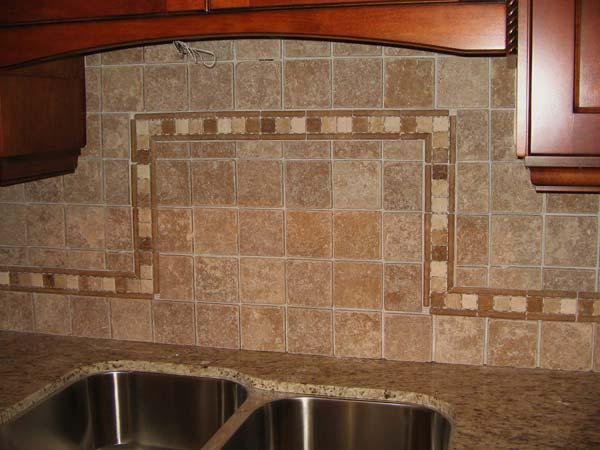 Image of: lowes mosaic tile backsplash