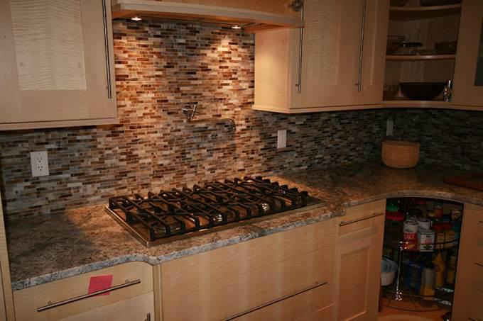 Image of: Metal Backsplash Ideas Designs Ideas