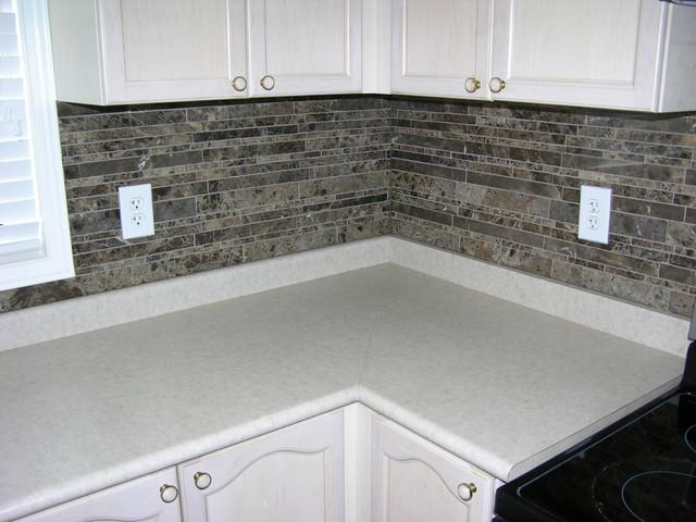 Image of: modern backsplash kitchen