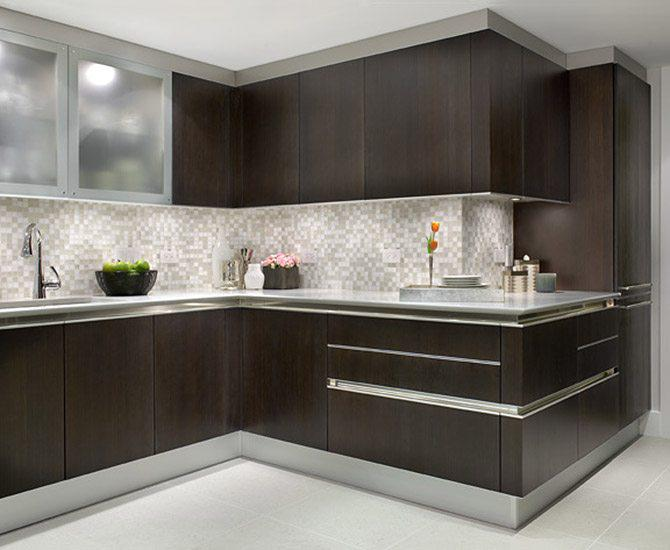 Image of: modern kitchen backsplash