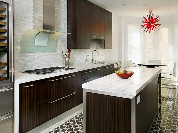 Image of: Modern Kitchen Glass Backsplash Designs Ideas