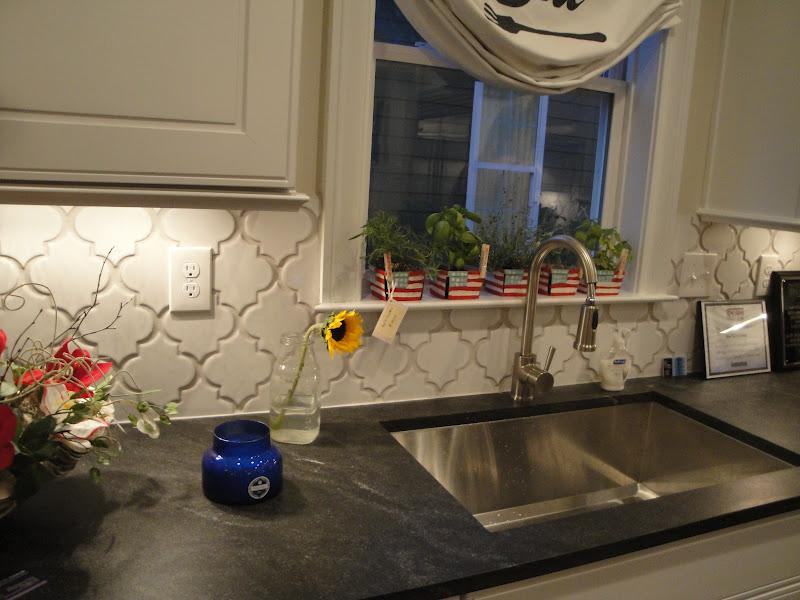 Image of: moroccan backsplash tile