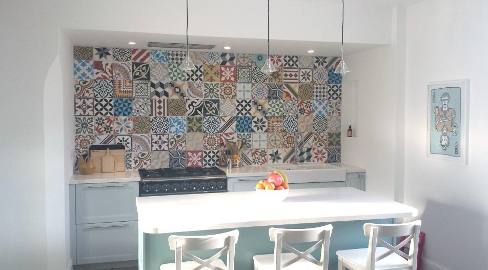 Image of: moroccan tile backsplash ideas