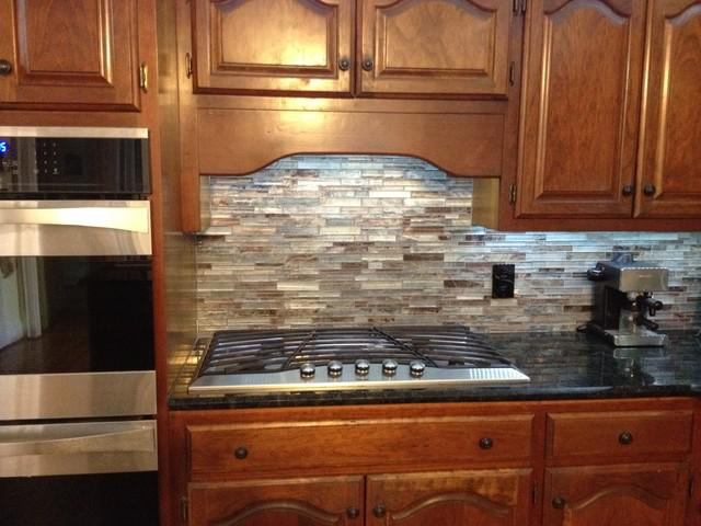 Image of: mosaic backsplash tile
