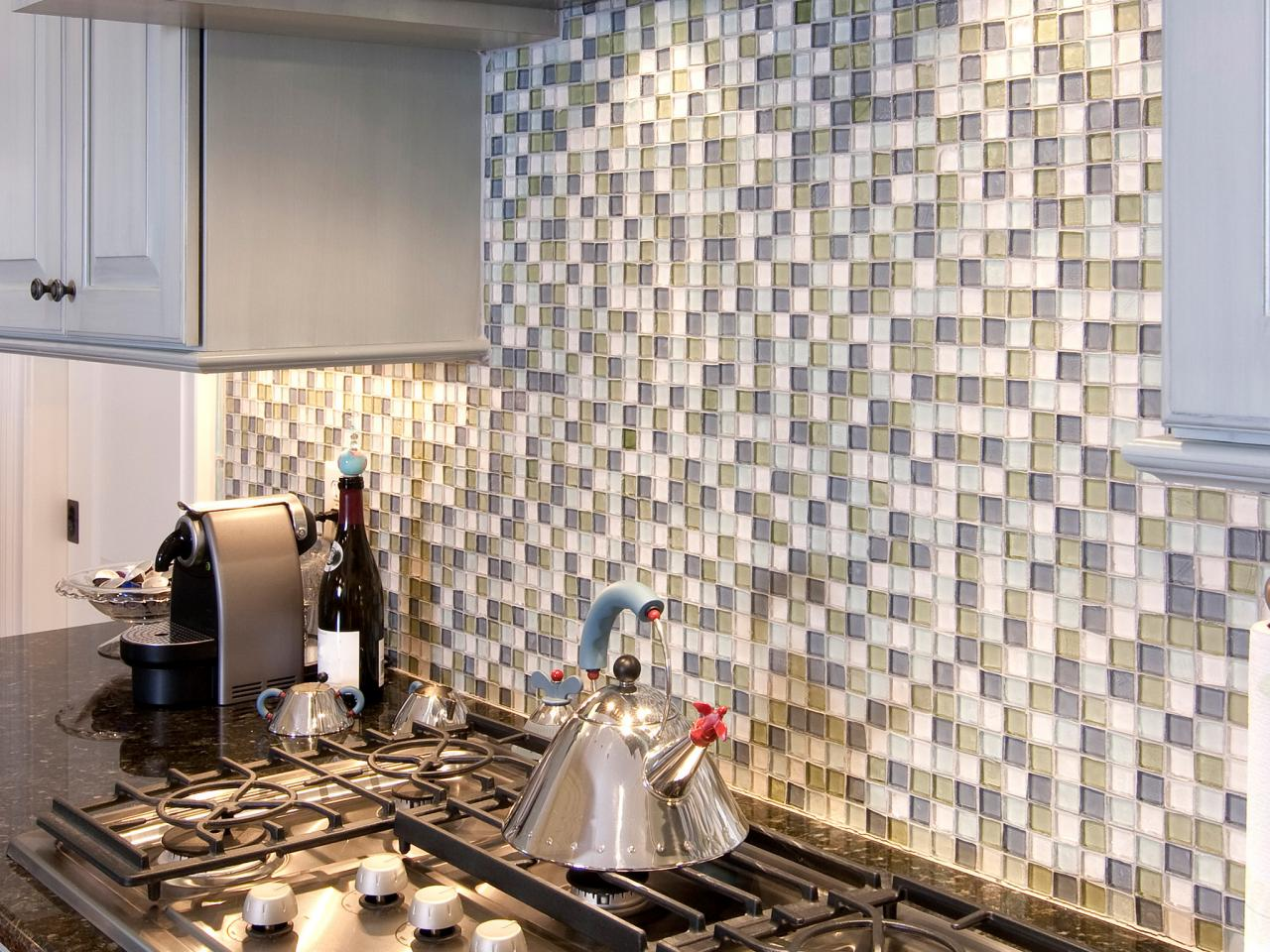 Image of: mosaic designs for kitchen backsplash