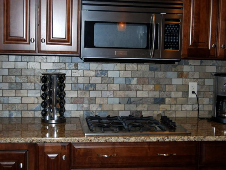Image of: painting ceramic tile backsplash