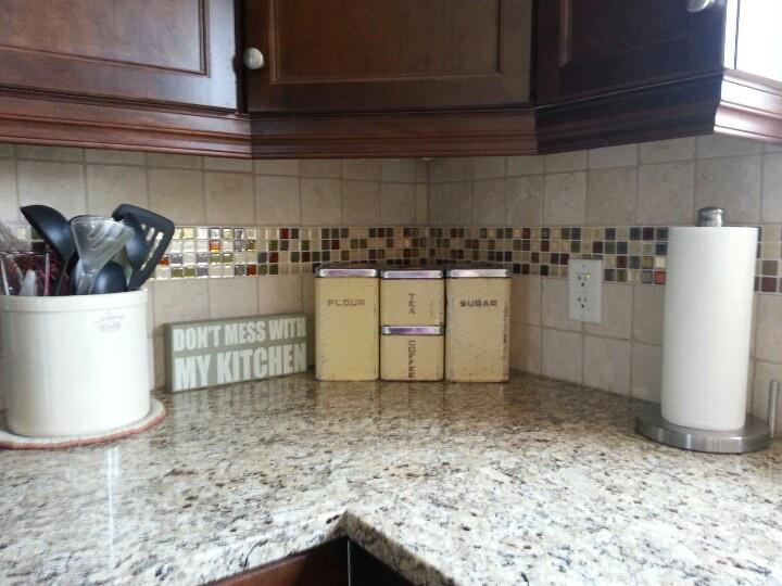 Image of: peel and stick backsplash tiles