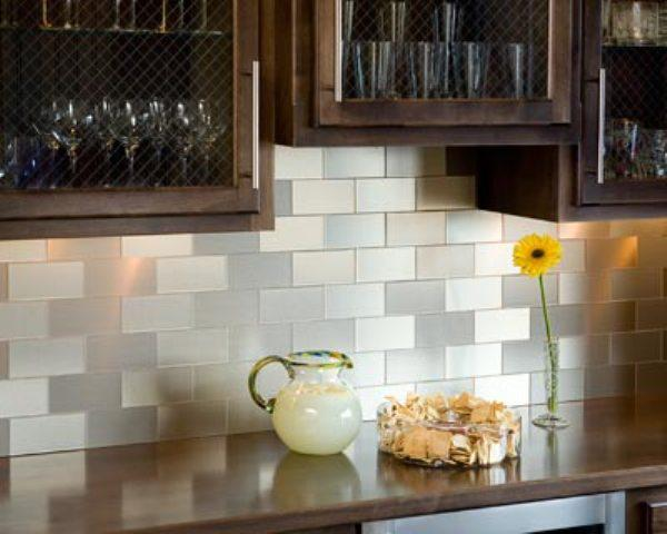 Image of: peel and stick kitchen backsplash
