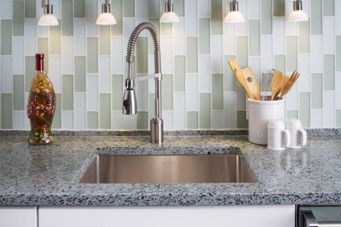 Image of: peel and stick tile backsplash