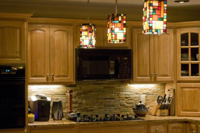 Image of: rustic backsplash ideas