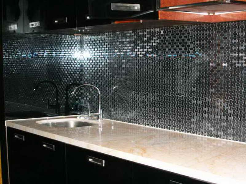 Image of: self adhesive backsplash wall tiles