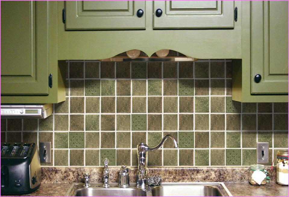 Image of: Self Adhesive Mosaic Tile Backsplash Designs Ideas