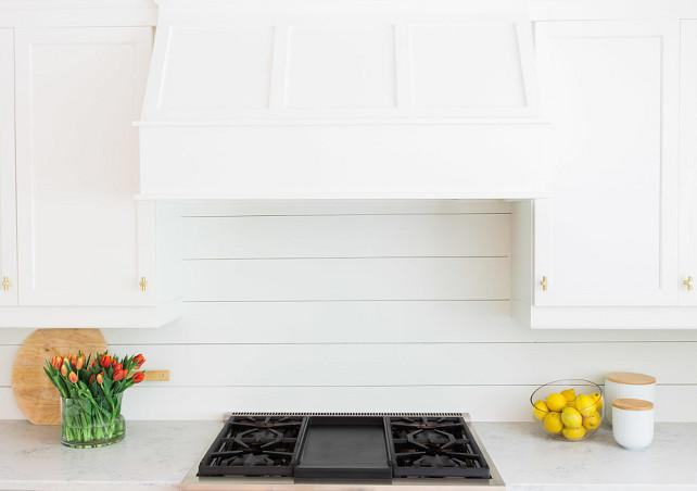 Image of: shiplap siding backsplash