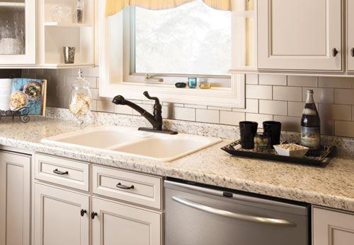 Image of: sticky back kitchen backsplash