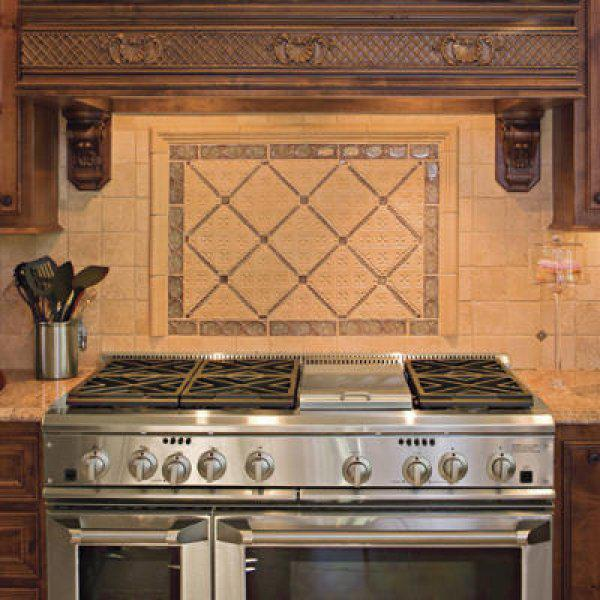 Image of: stove backsplash ideas