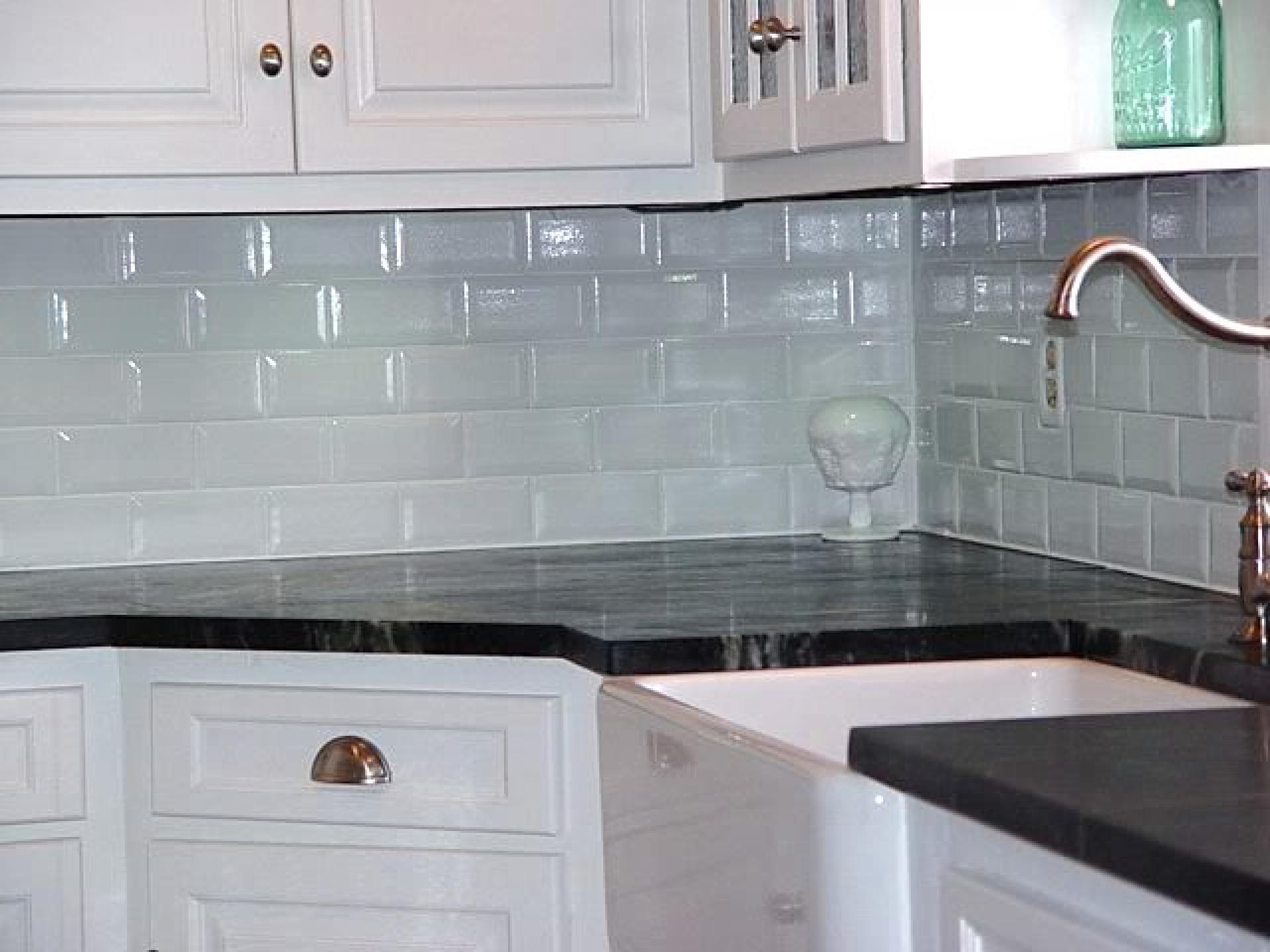 Image of: tile backsplash adhesive mat