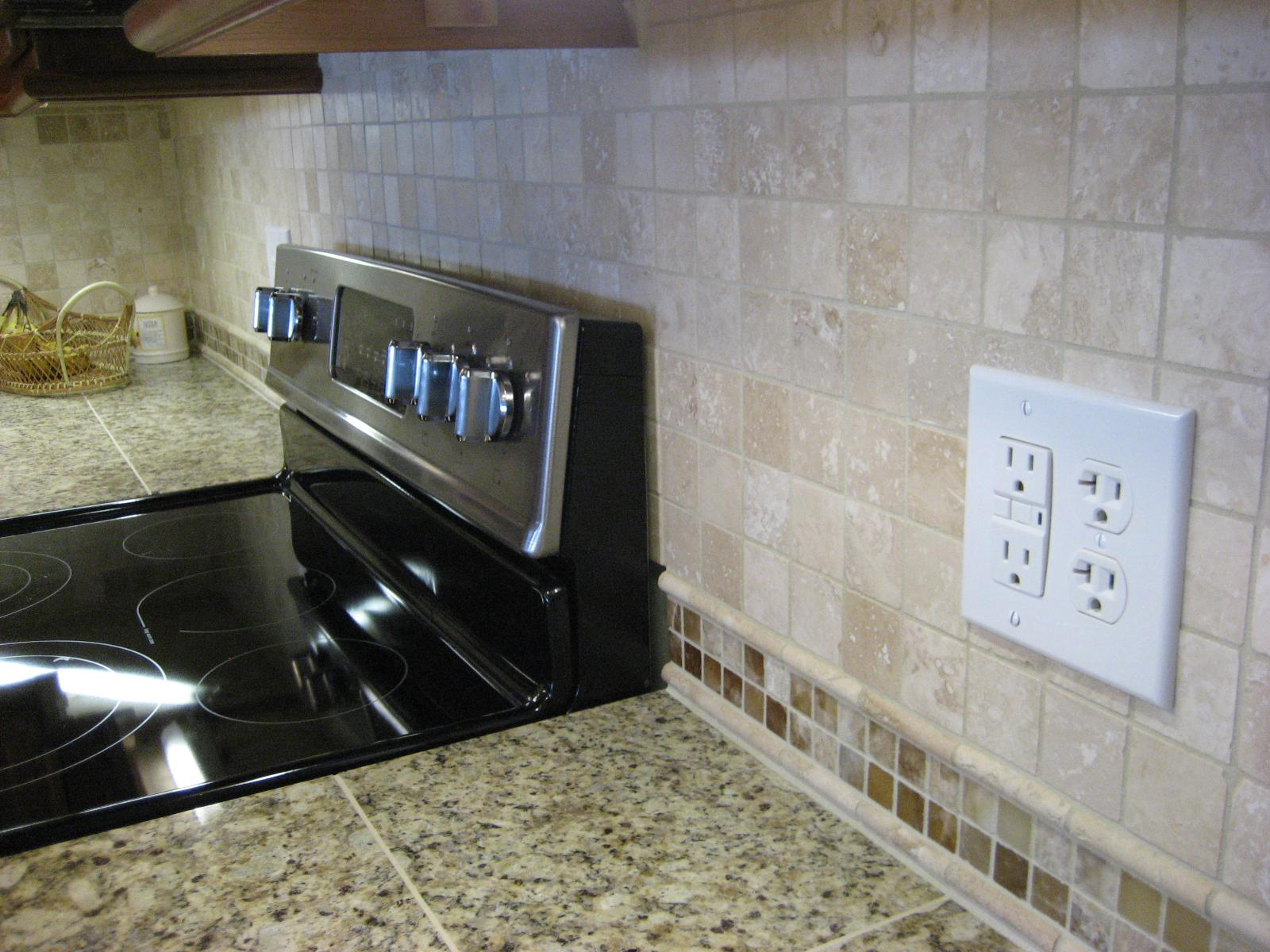 Image of: tile backsplash adhesive