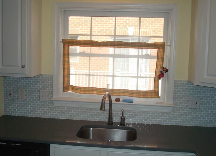 Image of: Tile Backsplash Around Window Designs Ideas