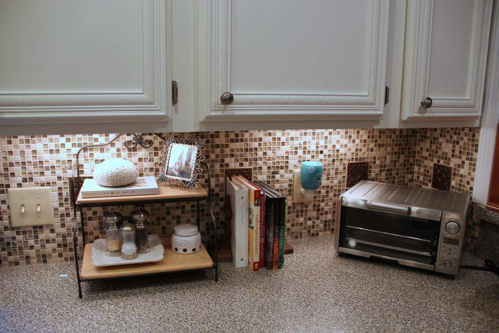 Image of: tile backsplash kitchen diy