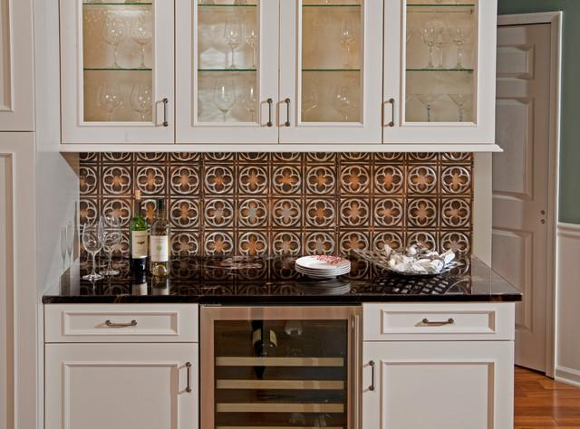 Image of: Tin Tiles For Backsplash Designs Ideas