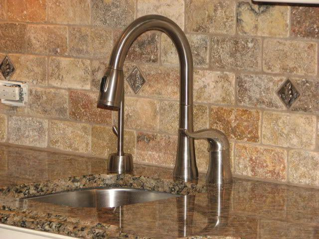 Image of: Travertine Subway Tile Backsplash Designs Ideas