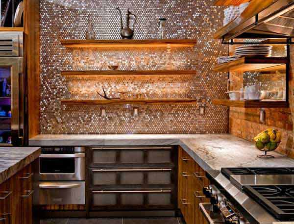 Image of: Unique Backsplash Ideas Designs Ideas