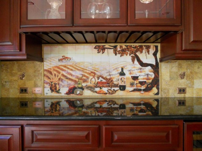 Image of: Unique Kitchen Backsplash Designs Ideas