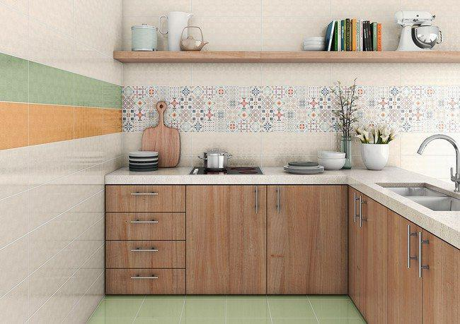 Image of: unique kitchen backsplashes