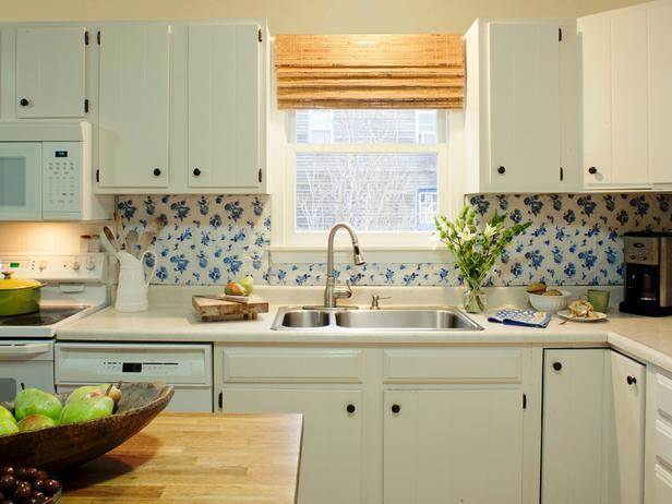 Image of: vinyl backsplash tiles