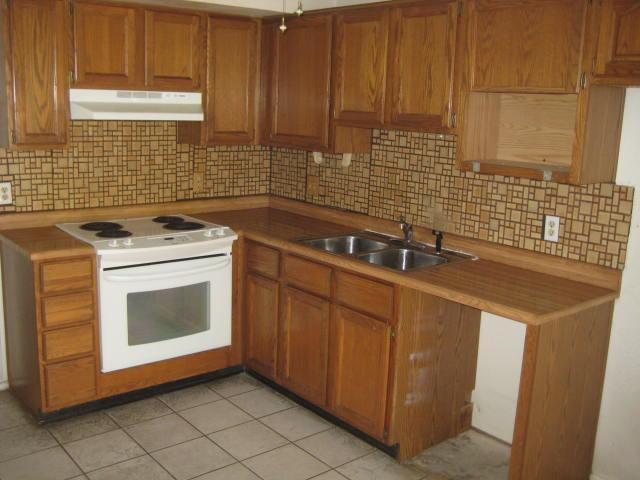 Image of: vinyl floor tile backsplash