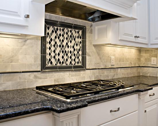 Image of: vinyl kitchen backsplash