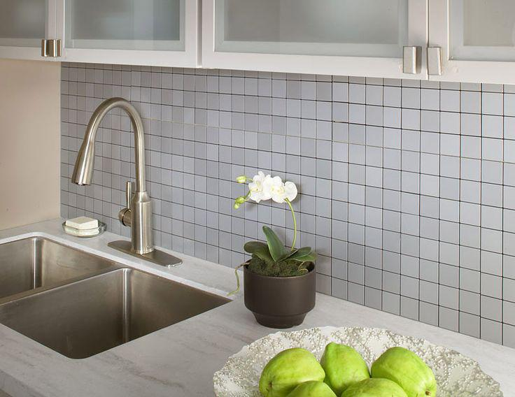 Image of: vinyl wall tiles backsplash