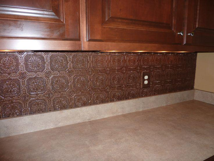 Image of: wallpaper backsplash