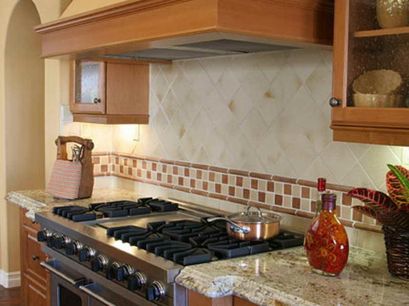 Image of: white ceramic subway tile backsplash
