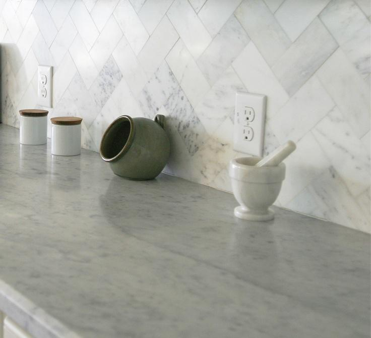 Image of: Beautiful Marble Backsplash Tile Designs Ideas