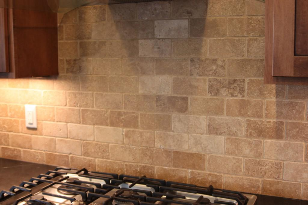 Image of: Beautiful Marble Subway Tile Backsplash Designs Ideas