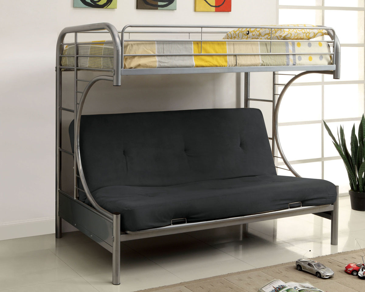 Image of: Best Metal Futon Bunk Bed