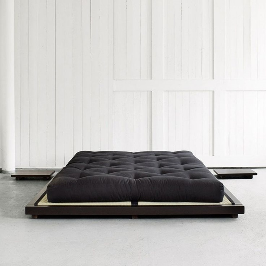 Black Comfortable Futons Mattress