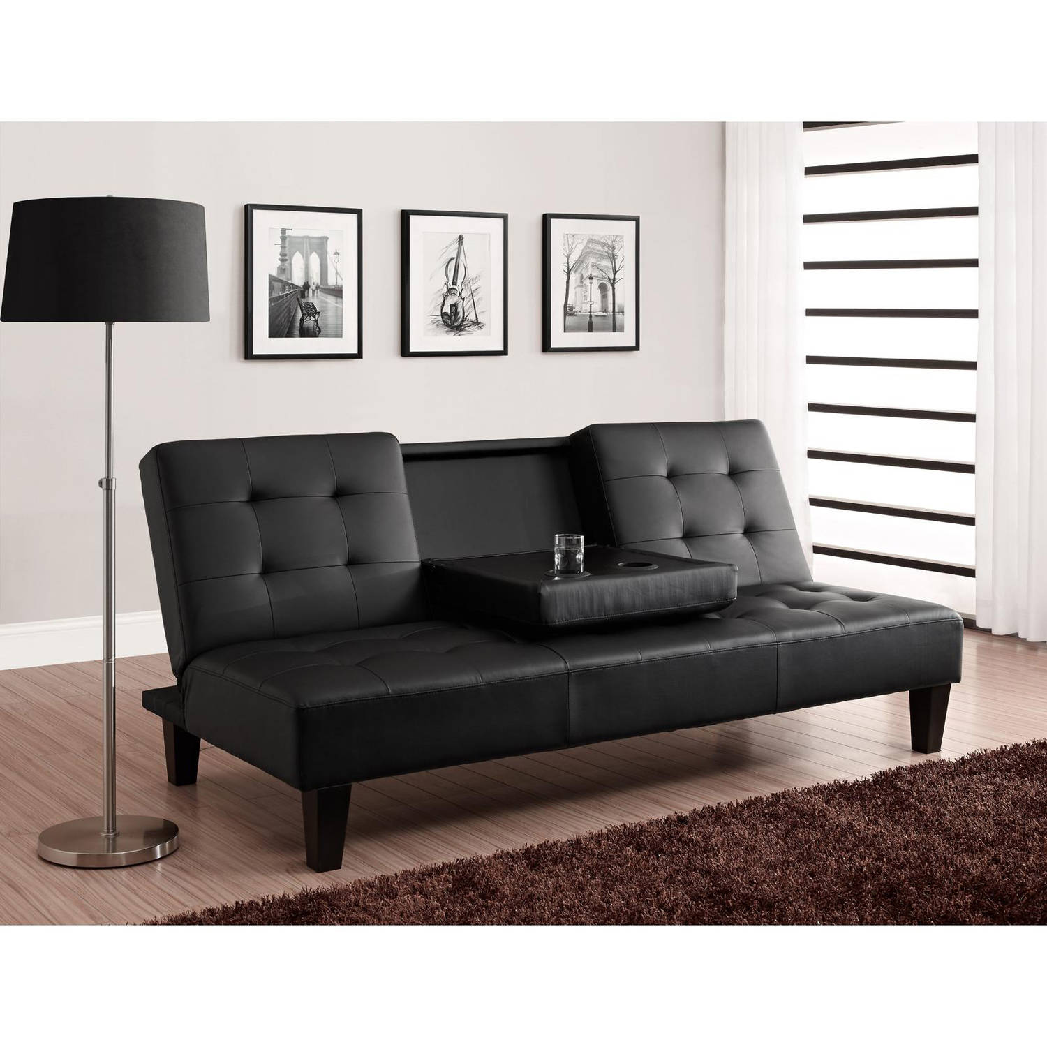 Image of: Black Futon Covers Target