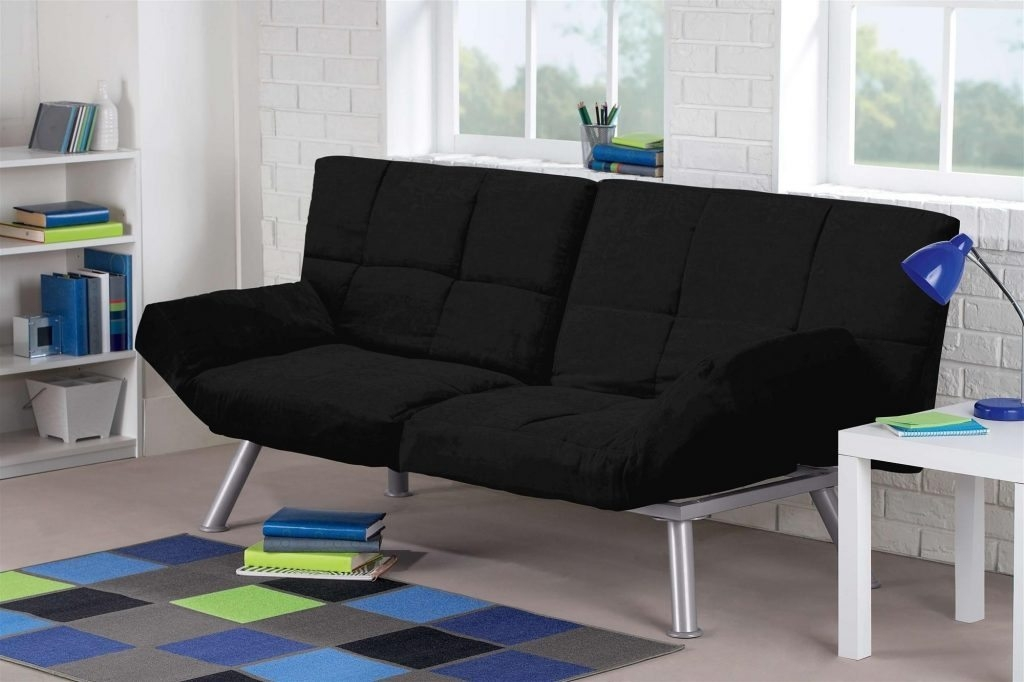 Image of: Black King Size Futon