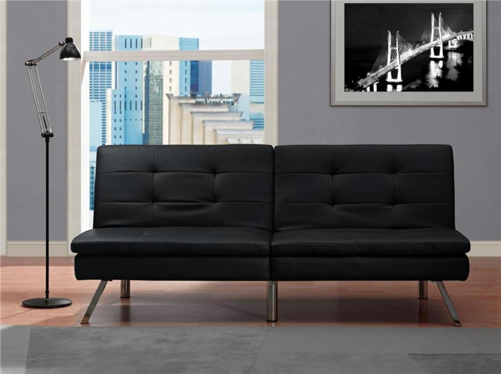 Black Twin Futon Chair
