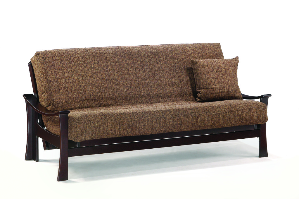 Image of: Brown Futon Lounger
