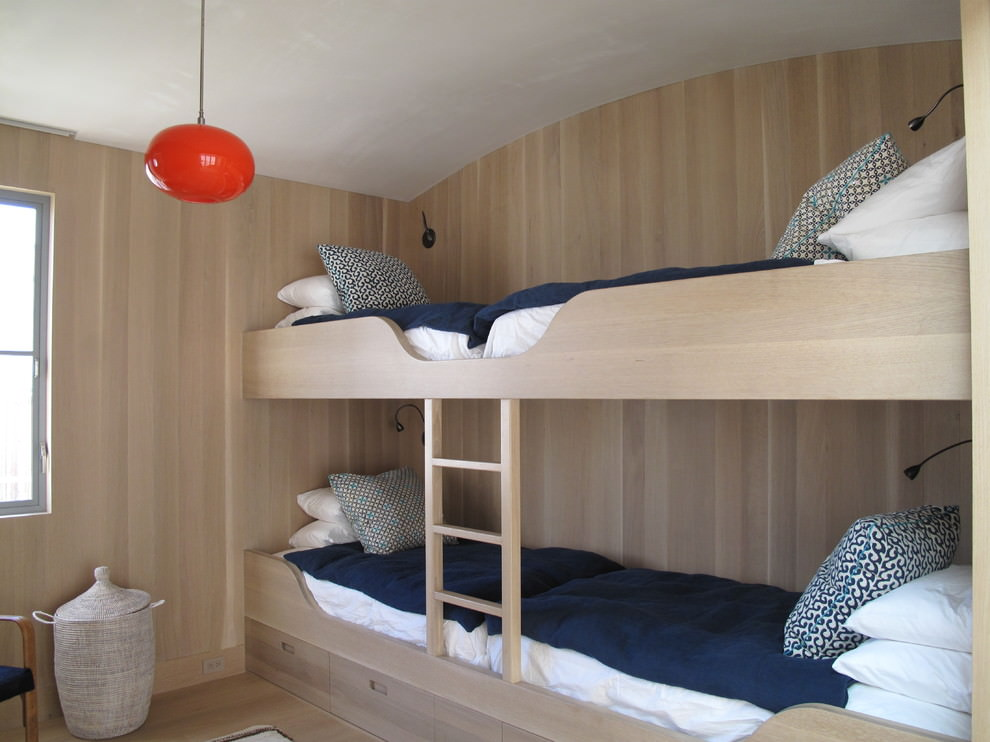 Bunk Bed with Futon Designs