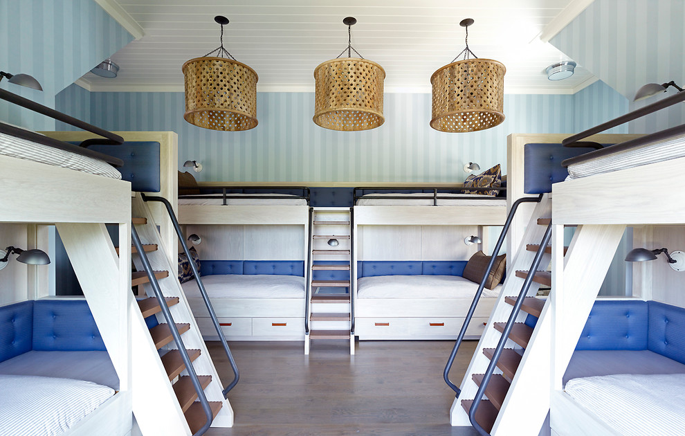 Image of: Bunk Bed with Futon Ladder