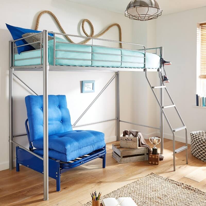 Bunk Beds with Futon Models
