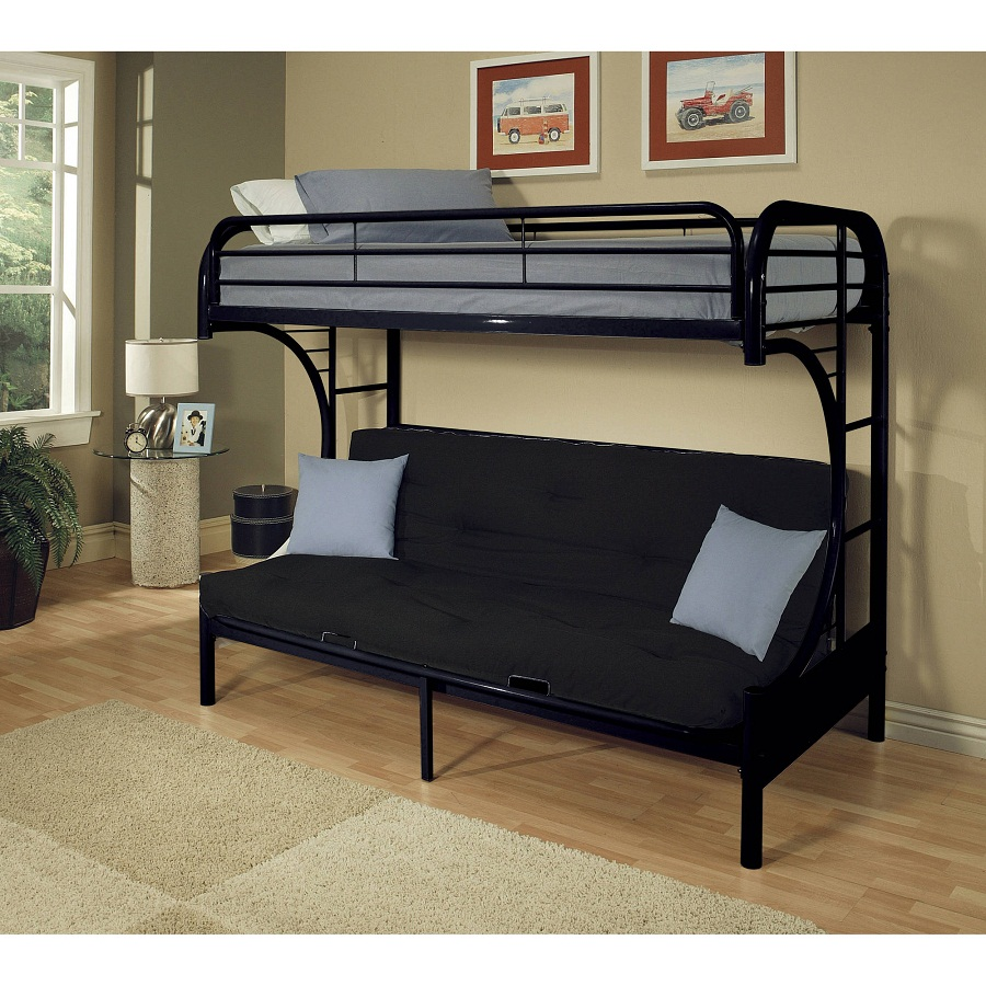 Image of: Bunk Full Size Futon Frame