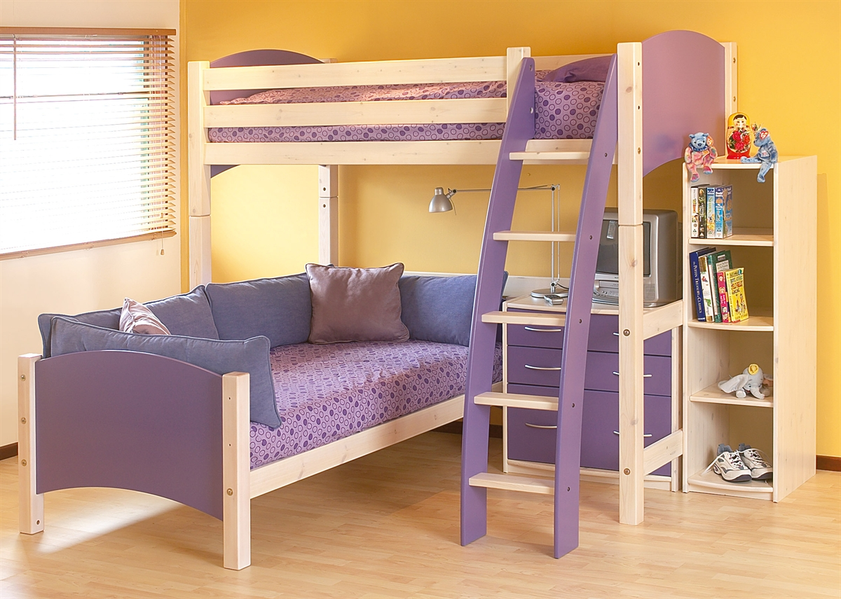 Image of: Bunk Futon Beds Ikea