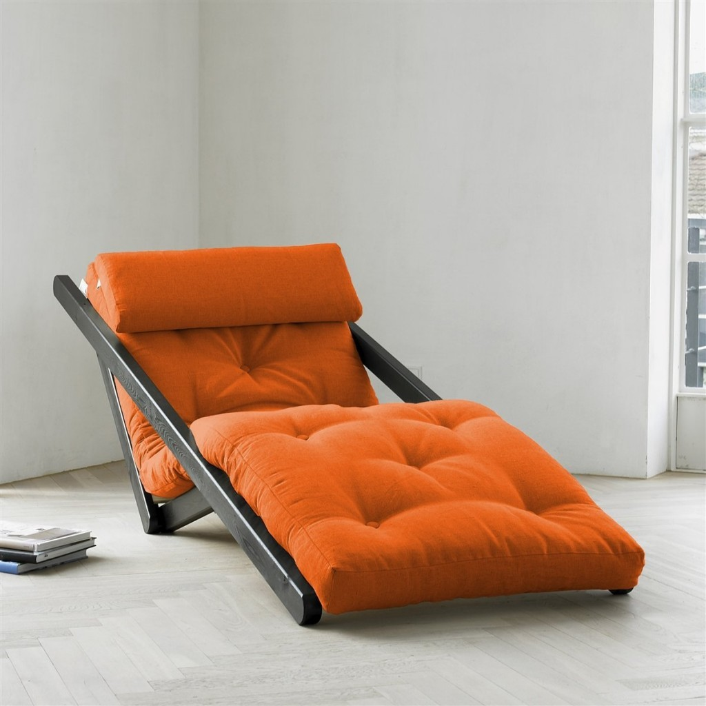 Chair Futon Orange