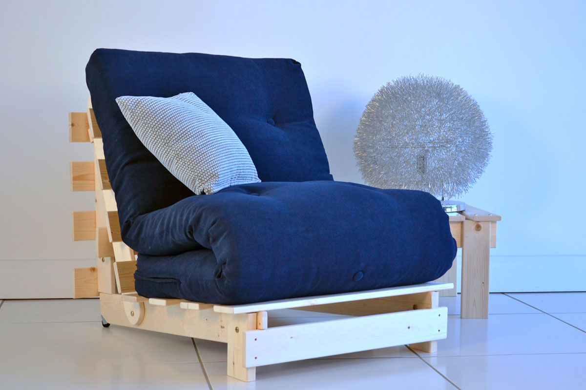 Image of: Chair Futon Single